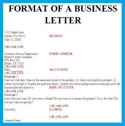 Business Letter Correct Spacing Business Letter Format Spacing Best Business Template