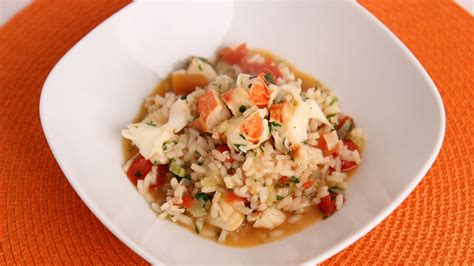 In The Kitchen Recipes by Lobster Risotto Recipe Vitale In The
