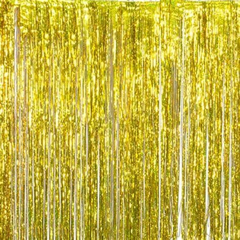 tinsel curtain metallic shimmer fringe window curtain tinsel foil wedding
