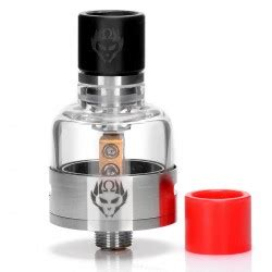 Spesial Merlin Mini Rta 24 By Augvape Authentic Gold Vape Rokok authentic fumytech windforce rta 4 5ml 25mm black atomizer