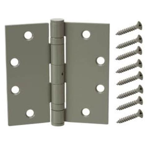 everbilt 4 1 2 in prime coated bearing door hinge