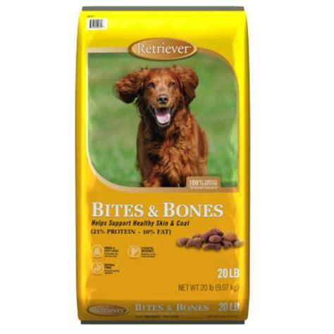 retriever food retriever bites bones food 20 lb bag for out here
