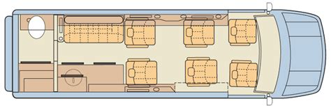 conversion van floor plans sprinter rv midwest automotive