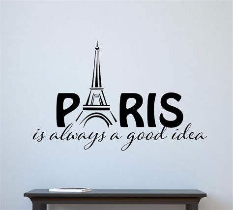 vinyl decals for home decor paris is always a good idea vinyl decal wall decor sticker