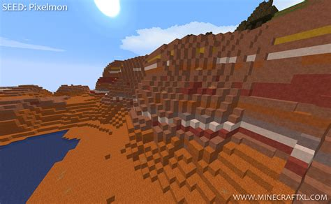 The Of Mesa minecraft 1 7 2 mesa biome spawn seed pixelmon
