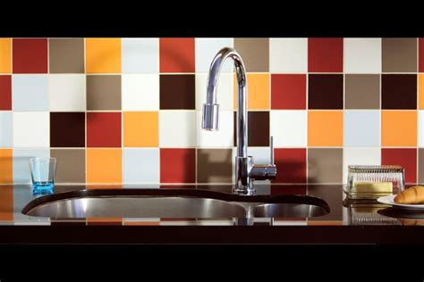 multi color backsplash tile jaw dropping tile ideas for your kitchen