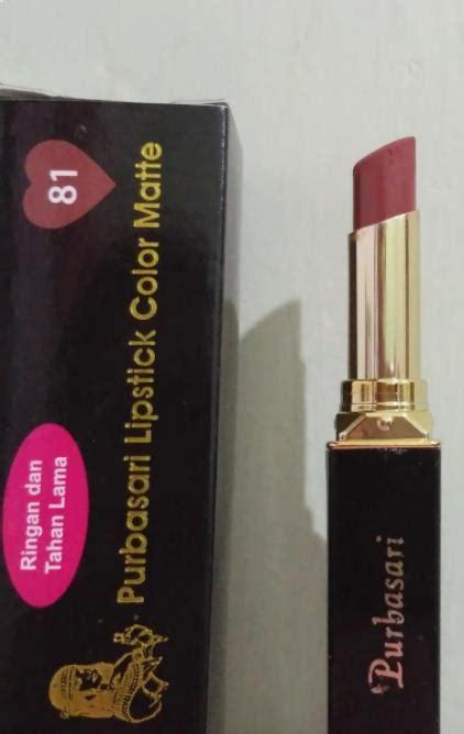 Harga Purbasari Lipstick daftar harga lipstik purbasari terbaru juli 2018