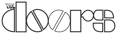 The Doors Logo by File Thedoors Logo Svg Wikimedia Commons