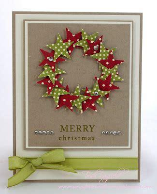 how to make a card wreath best 20 handmade cards ideas on