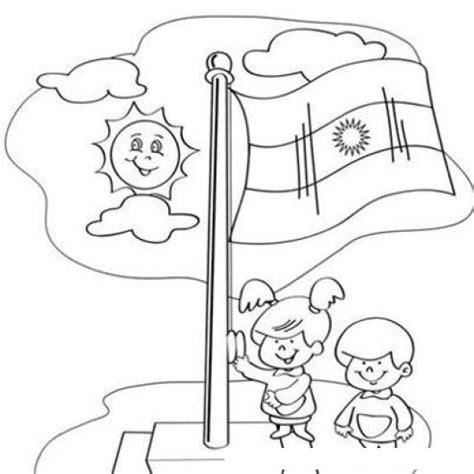bandera de argentina para colorear para imprimir gratis bandera de argentina para pintar y colorear dibujo de