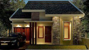 model rumah minimalis satu lantai tampak depan unik terbaru  wartasolocom berita