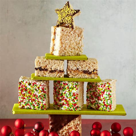 christmas tree marshmallow treats