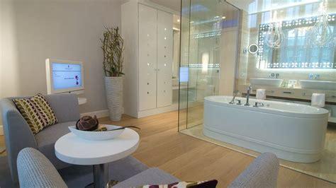 glass wall bathroom ketschauer hof bad d 252 rkheim rhineland palatinate