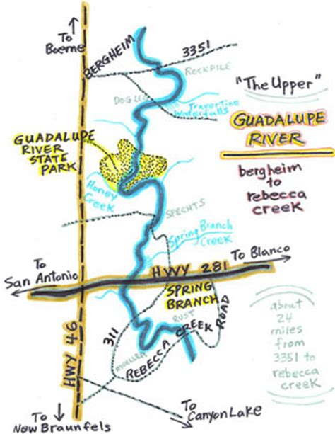 guadalupe river map texas clap page4g