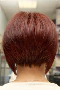 front and back of inverted bob hair short angled inverted bob hairstyles back view beauty