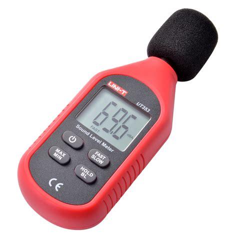 Lcd Digital Sound Noise Decibel Level Meter Tester Diskon digital sound pressure level decibel noise meter tester