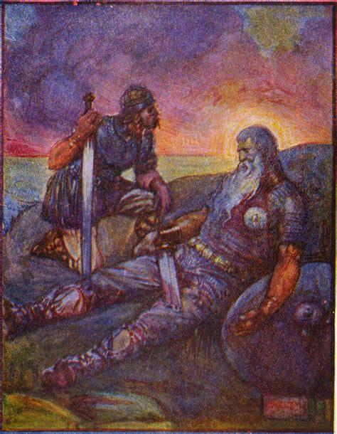 Beowulf Three Battles Essay by Wiglaf