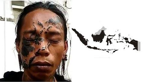 tato peta indonesia menguak kisah haru ceko pria yang nekat tato peta