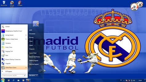 themes real madrid theme real madrid