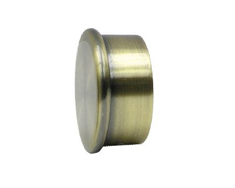 dk drapery hardware dakota end cap for 1 3 8 inch diameter dakota metal poles