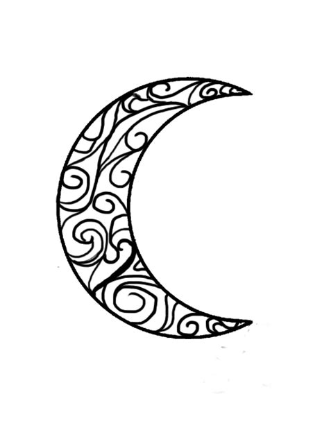 half moon tattoo designs 11 beautiful tribal moon tattoos only tribal
