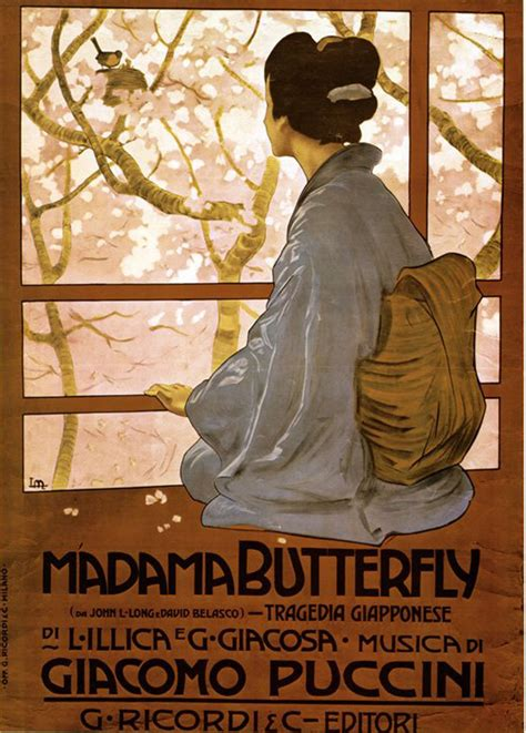 madama butterfly metlicovitz madama butterfly 1904 composers butterfly opera and vintage posters