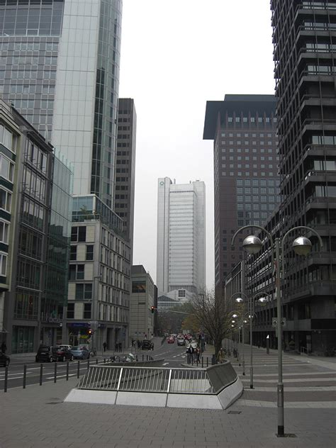 jp bank frankfurt skyscrapers in frankfurt am