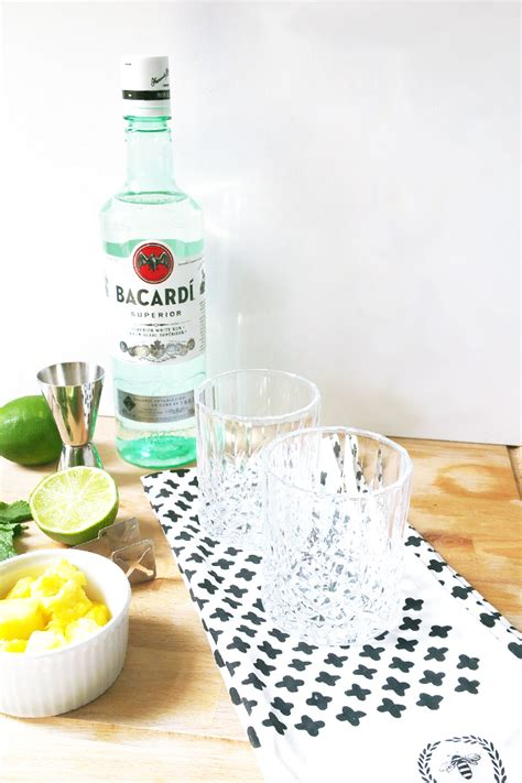 bacardi mojito recipe food drink pineapple mojito with bacard 205 my little