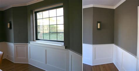 How To Transform The Personality Of A Room With Just Paint Gray Walls White Wainscoting