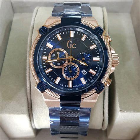 jual jam tangan pria gc guess collection type  ori bm