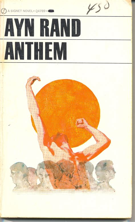 anthem books anthem ayn rand quest for the great american novel