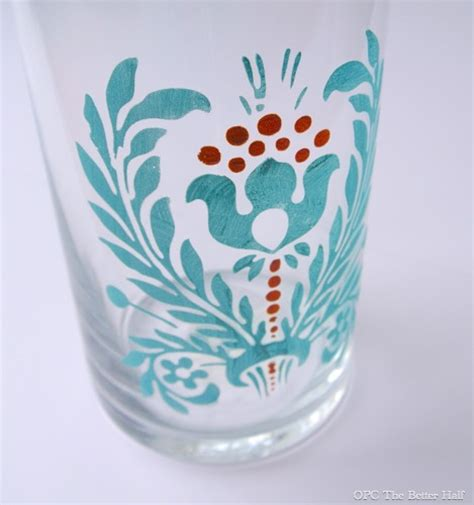 Glass Painting Designs For Vases by 25 Fabulous Glass Painting Ideas One Project Closer