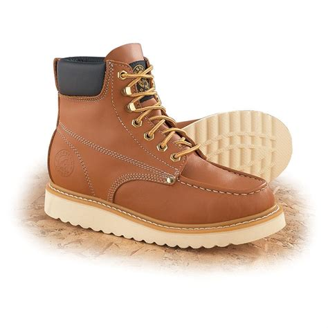 s western chief 174 6 quot moc toe boots 88382 work
