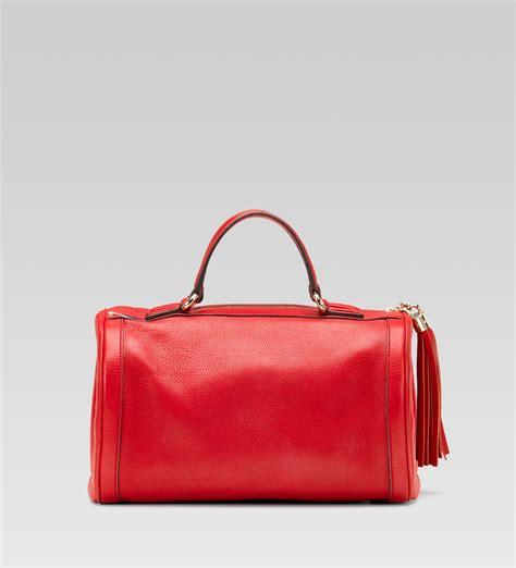 Gucci Boston Bag by Gucci Soho Medium Boston Bag In Leather All