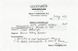 Certification Letter Philippines Helping Ann Medical Certificate