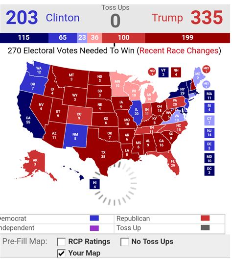 map of us election results prediction for the 2016 presidential election iron not wood