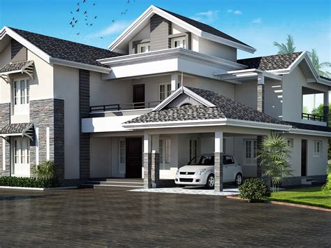 roof house design feet flat roof home design house plans hip garage plan designs top roof types plus