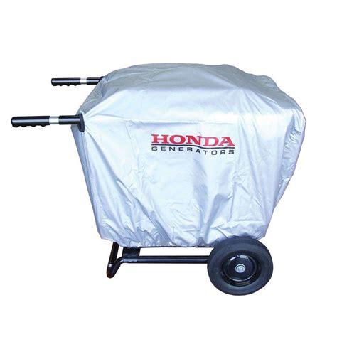 honda eu3000is wheel kit honda eu3000is generator cover with installed 2 wheel kit