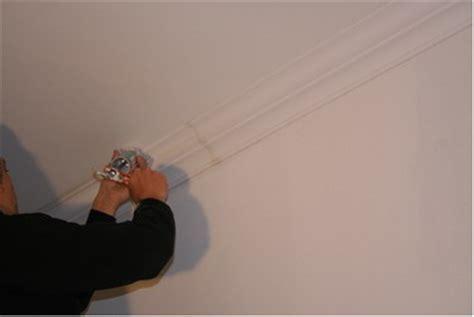 stuck streichen montageanleitung f 252 r stuckleisten aus gips vld trade gmbh