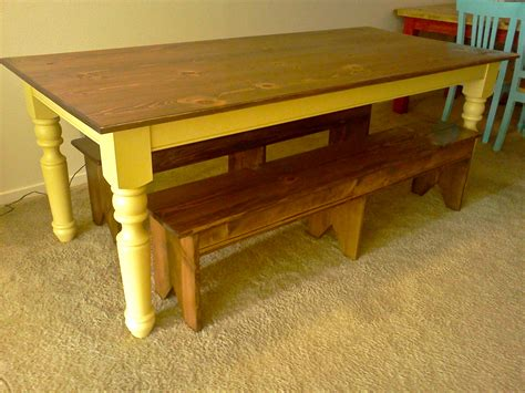 building a farmhouse ana white turned leg farmhouse table diy projects