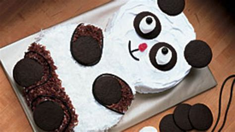 panda cake template panda cake recipe from betty crocker