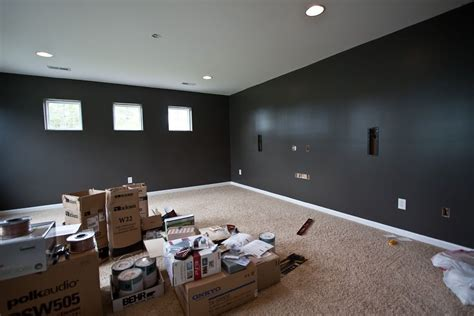 color   paint  home theater room home