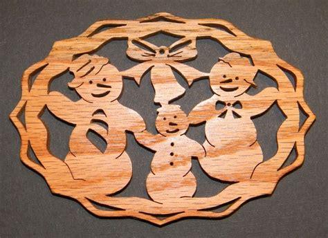 snow snowman ornaments scroll