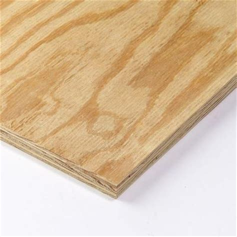 null 15 32 in x 4 ft x 8 ft bc sanded pine plywood