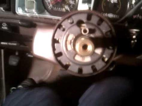 rebuild  tilt steering column video  youtube