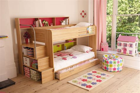Bunk Beds With Storage Space Bunk Up Bedroom Ideas Furniture Wallpaper Accessories Houseandgarden Co Uk