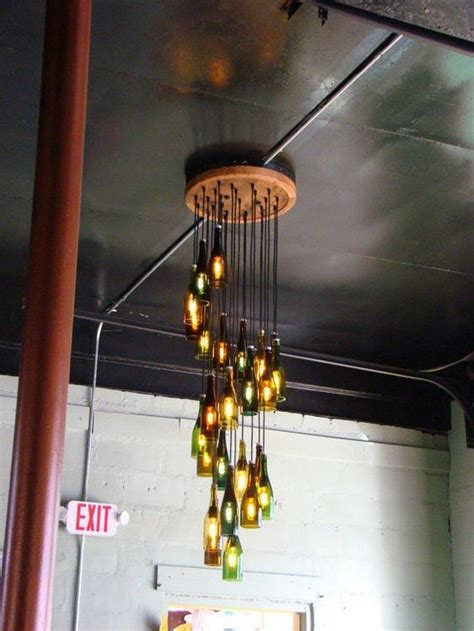how to make wine bottle chandelier how to build a wine bottle chandelier diy projects for