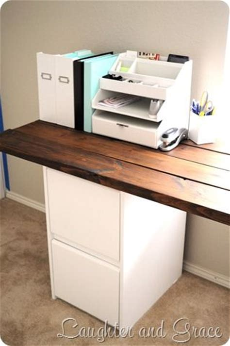 Diy Desk Drawer Diy Desk You Could Make The Top From Pallet Wood Look At Ikea For White Drawers Take A