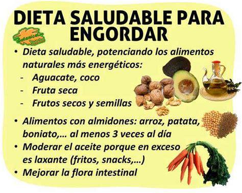 alimentos para engordar piernas dieta para engordar saludablemente