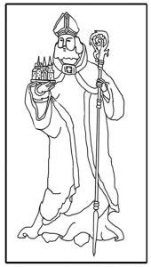 coloring pages of the name chad free coloring page saint chad schola rosa